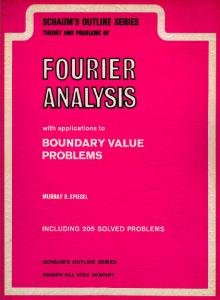 fourier-analysis-schaum's