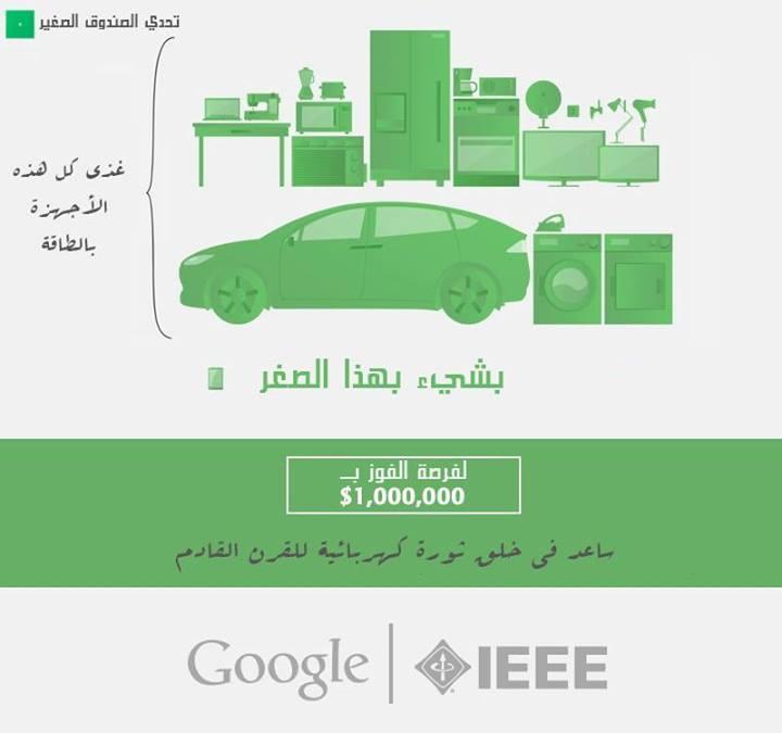 تفاصيل المسابقة.  تم التعريب عبر فريق عمل الموقع، وملكية الصورة تعود لـ IEEE وغوغل