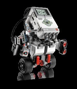أحد نماذج الروبوتات المصممة وفقاً لتقنية Mindstorms EV3 من شركة ليغو