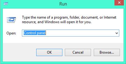 run-control-panel
